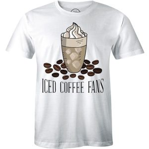 Best Brewed Iced Coffee Fans Coffee Lover T-shirt